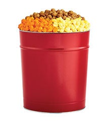 Simply Red Red Popcorn Tins