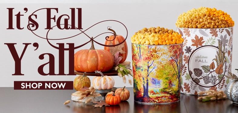 Fall Gifts & Popcorn