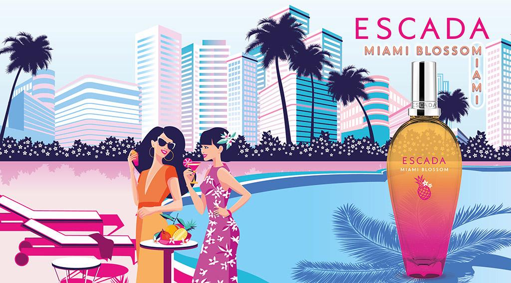 ESCADA Miami Blossom - Eau de Toilette   Escada