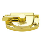 Cam-Action Lock Bright Brass