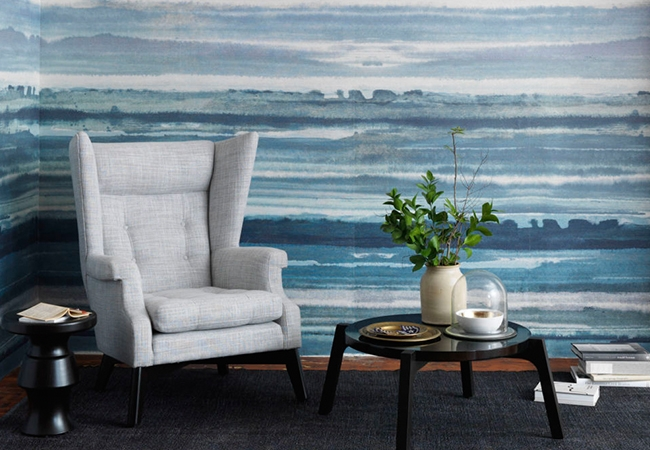 Interior design trends - Philip Jeffries Wallpaper