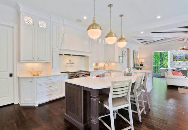 modern kitchen ideas white kitchen large island barstools