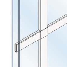 """5/8"""" Flat Grilles-Between-the-Glass"""