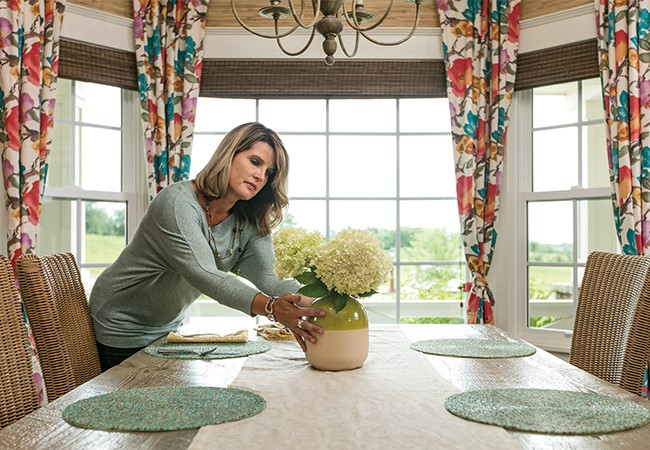 Cure Cabin Fever - Pella 350 Series Double-hung windows and Pella 350 Series Fixed Windows