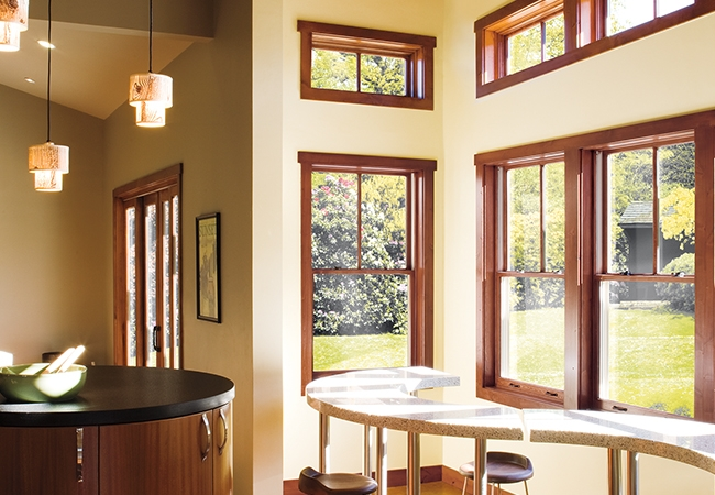 Double-hung windows architect series wood windows home remodeling