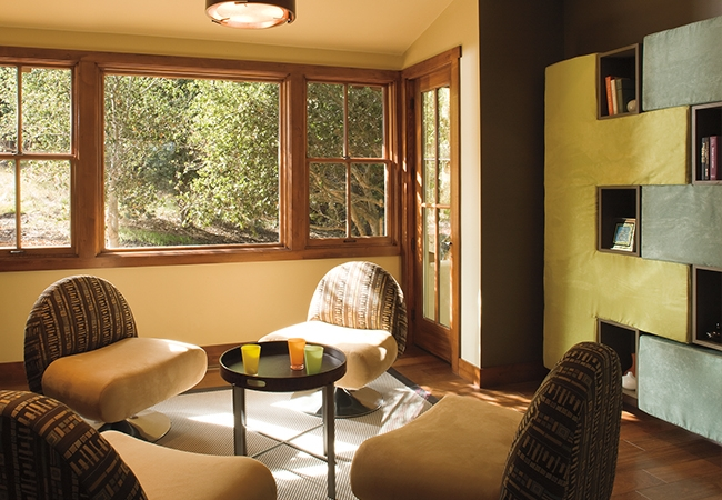 Interior design trends - fixed windows