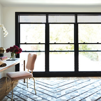 new york on mute layer rugs three double hung windows