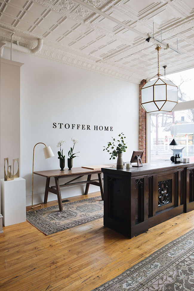 stoffer home jean stoffer design Michigan interior design store