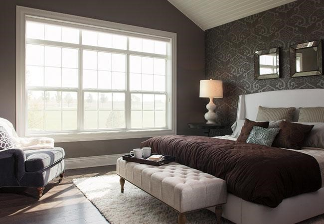 how to clean windows three wide double hung windows bedroom