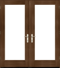 architect series traditional hinged patio door