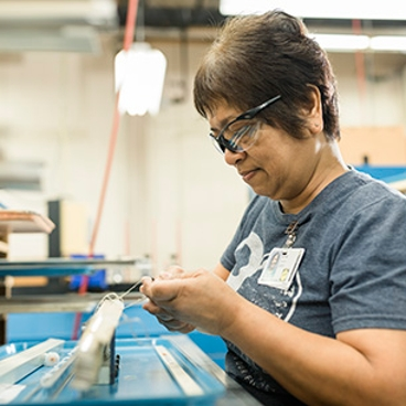 performance tested to last woman working on shades