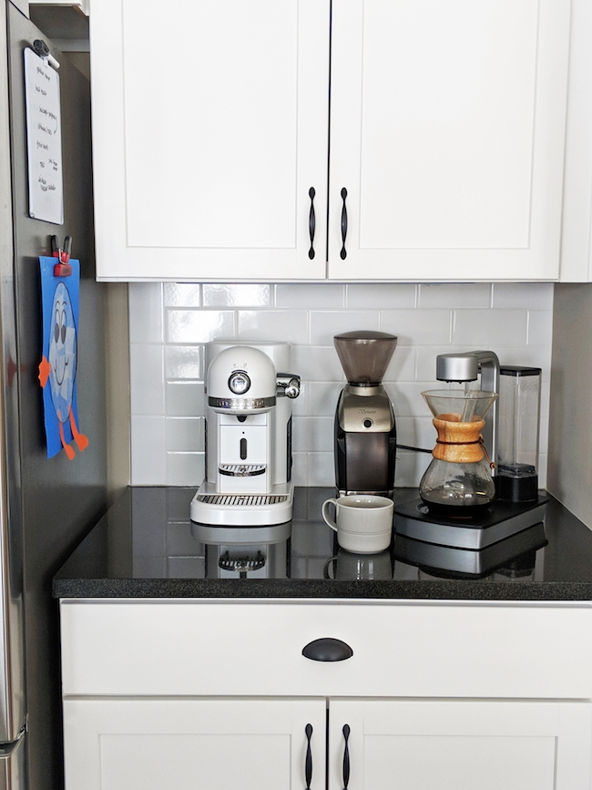 charmax coffee maker on a countertop by girl vs dough