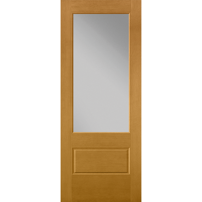3/4 Light Entry Door with Glass