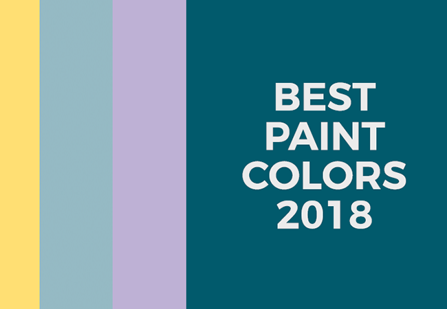 The best paint colors for 2018