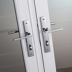 architect series patio door hardware with smartkey