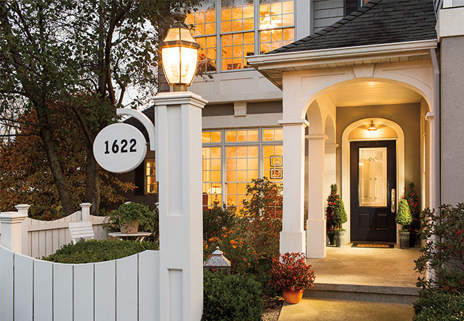 smart home trends exterior lighting entry door with isabella decorative glass