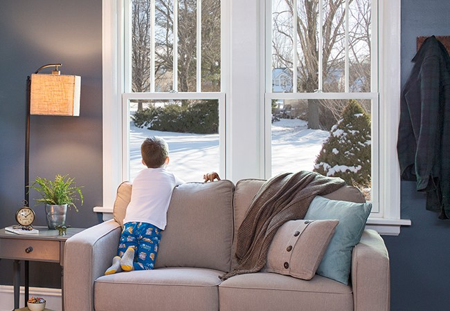 Cure Cabin Fever - Pella Architect Series 850 Double-hung windows
