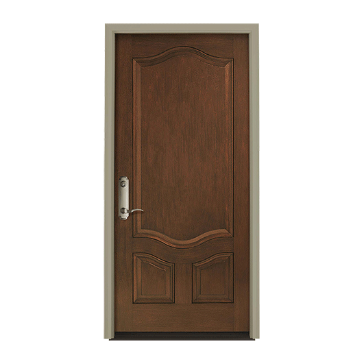Architect Series 3 Panel Deluxe Entry Door Solid Panel
