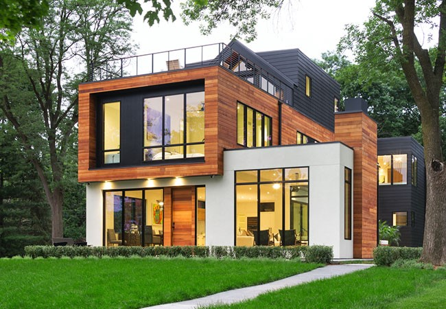 new home construction contemporary architect series windows