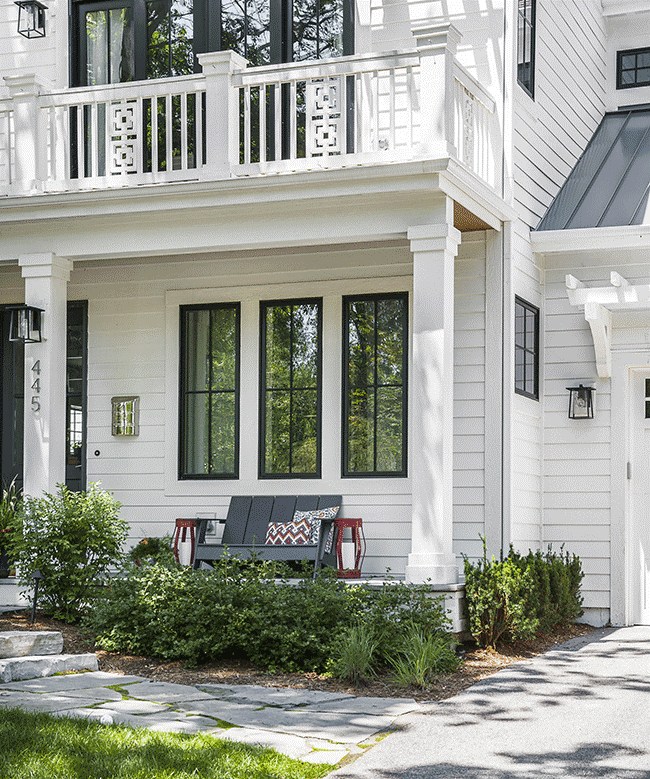 curb appeal tips outdoor furniture ideas white exterior home siding
