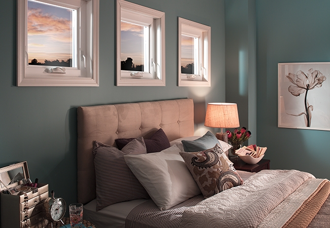 Interior design trends - vinyl windows