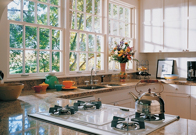 Kitchen Remodeling Tips - Architect Series Traditional double-hung windows