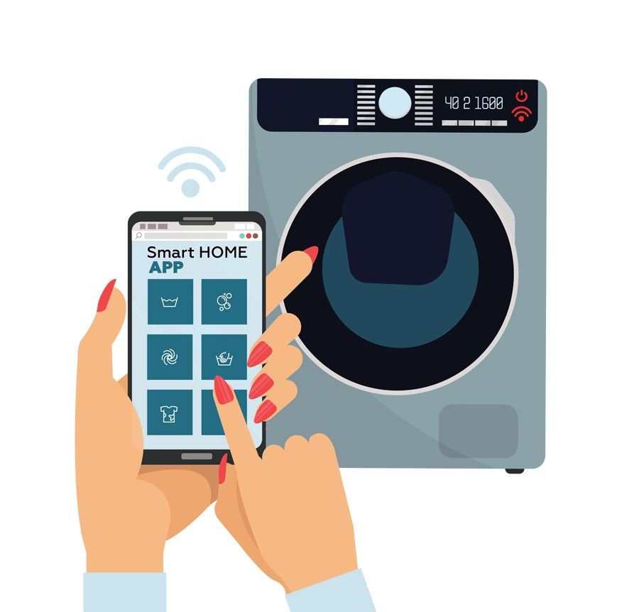 smart washer icon