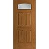 Fan Light Camber Entry Door