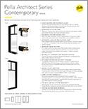 architect series b2b spec sheet