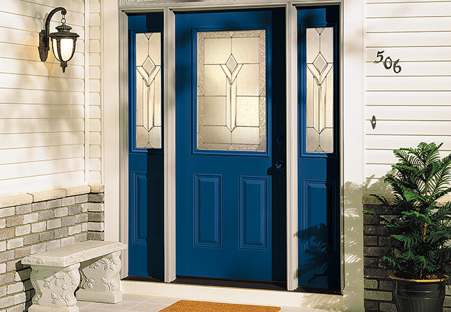 A new entry door can give your home added curb appeal