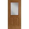 Half Light 2-Panel Entry Door