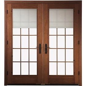 pella lowes smart hinged door
