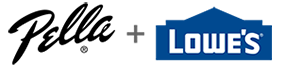 pella plus lowes logo