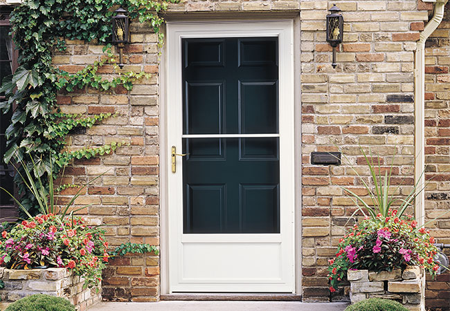 how to measure a storm door