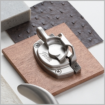 Interior Espresso Hardware Swatch