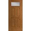 Fan Light Rectangle Entry Door