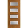 4-Light Equal Entry Door