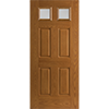 Twin Colonial Light Entry Door