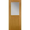 Flush-Glazed Half Light Entry Door