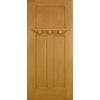 Craftsman Opaque Entry Door