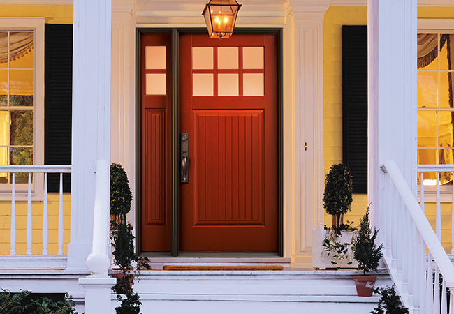 A new entry door can improve your home's energy efficiency