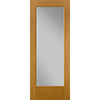 Flush-Glazed Full Light Entry Door