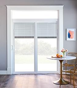 150 series patio door with blinds between-the-glass