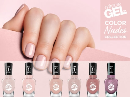 Miracle Gel Color Nudes Collection
