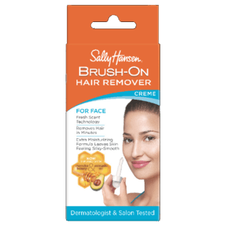 Brush On Hair Remover Creme For Face Sally Hansen