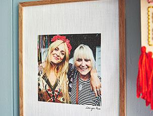 Personalised Favourite Photo Cotton Print