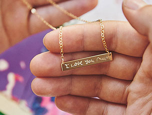 Personalised Handwriting Necklace