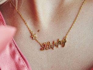 Fearne X Carrie 'Happy' Necklace by Carrie Elizabeth Jewellery