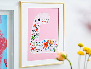 Mum Strong Arm Print by Eleanor Bowmer
