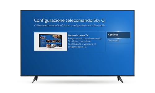 Sky Q Black TV telecomando